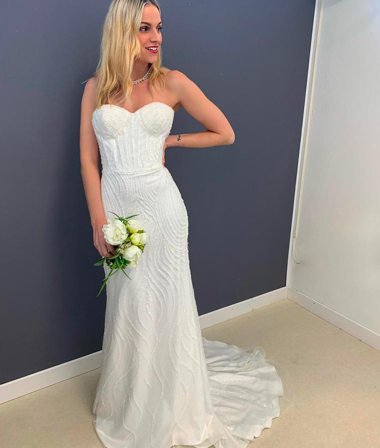 abito da sposa angelica