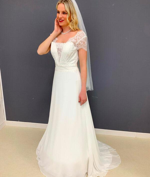 abito da sposa scivolato ada